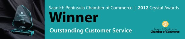 2012 Winner: Outstanding Customer Service