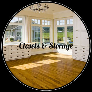 closets and storage